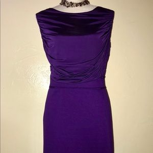Dresses & Skirts - Beautiful  TAHARI Woman Royal Purple Dress